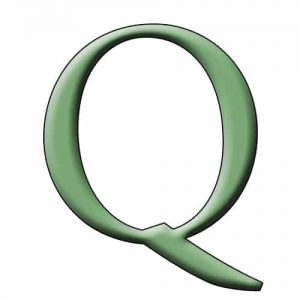 Begins with Q