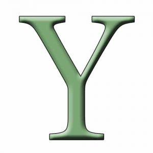 Begins with Y