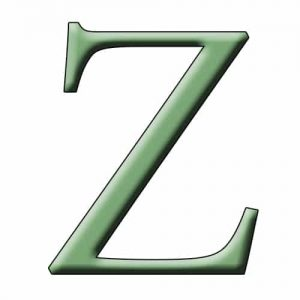 Begins with Z