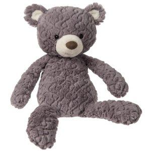 plush grey bear by mary meyer