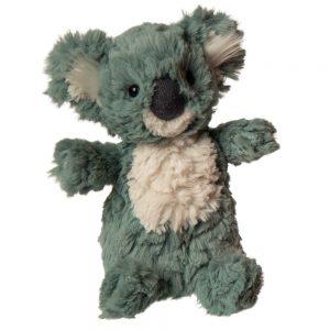 plush green koala bear by mary meyer
