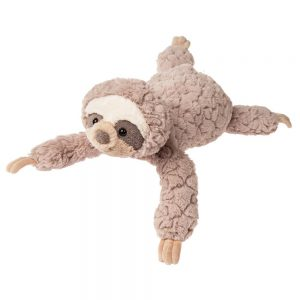 plush beige sloth