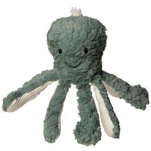 plush green octopus