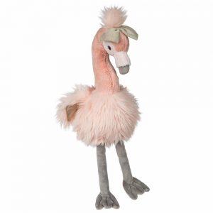 plush pink flamingo